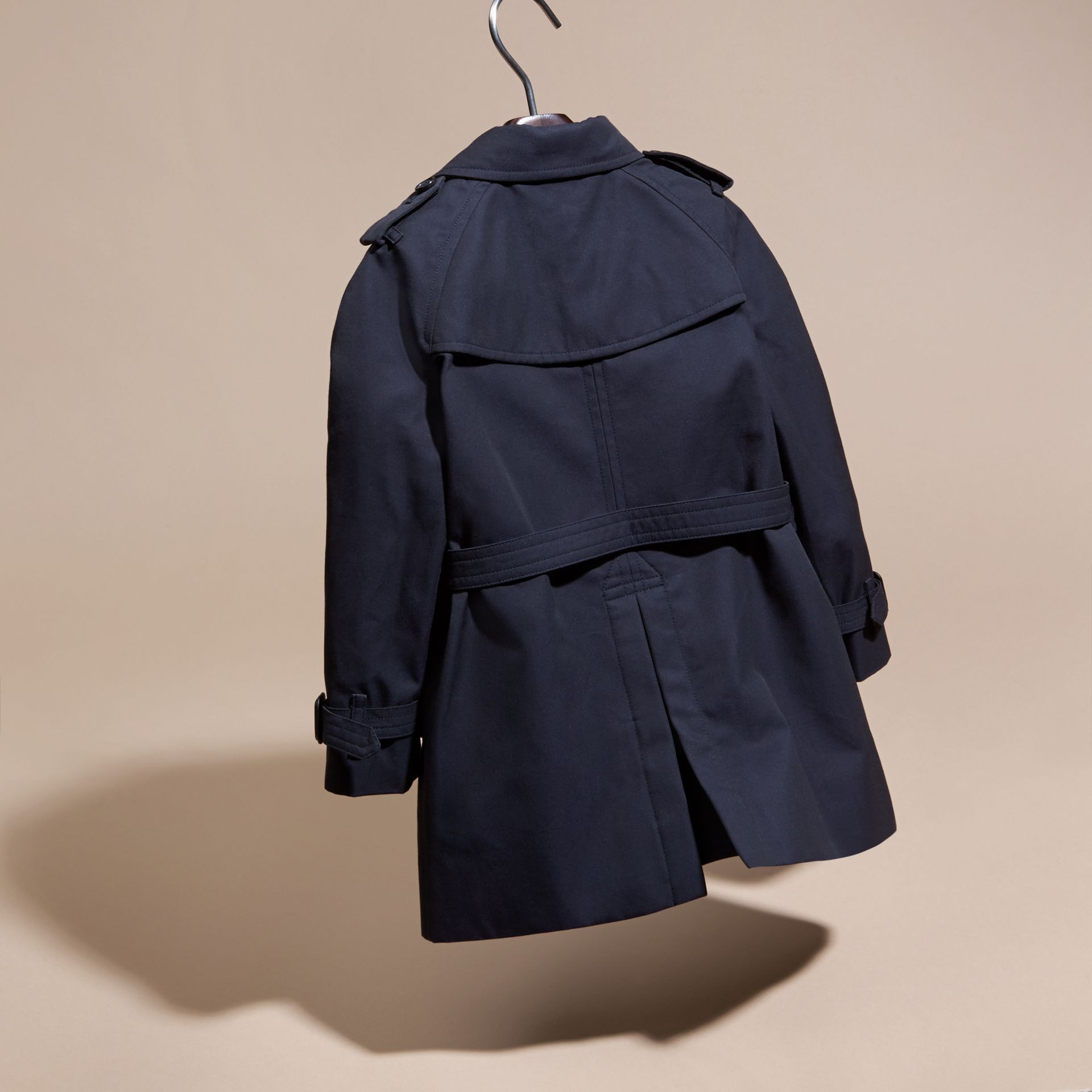 The Wiltshire – Heritage Trench Coat Navy - gallery image 4