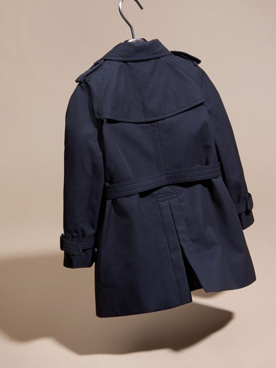 The Wiltshire - Trench coat Heritage (Navy) - cell image 3
