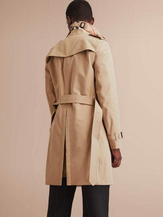 The Chelsea – Long Heritage Trench Coat Honey - cell image 2