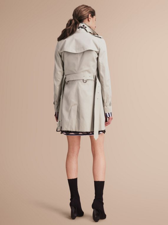 The Kensington – Mid-Length Heritage Trench Coat in Stone - cell image 2