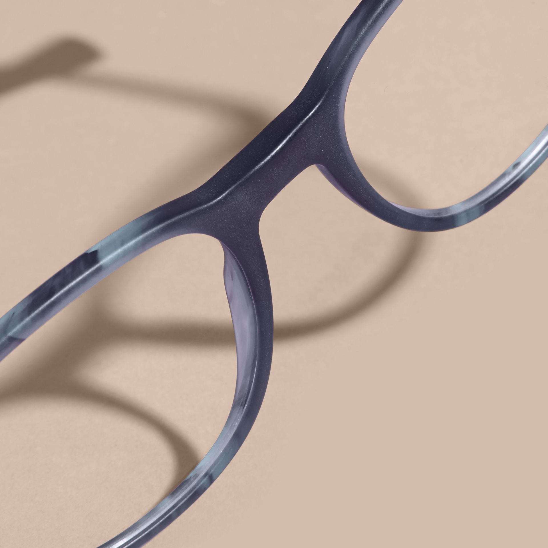 Square Optical Frames Deep Blue - gallery image 5