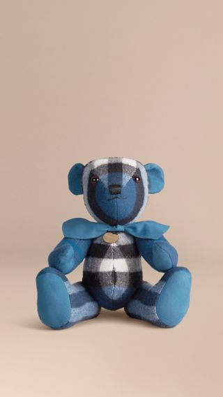Thomas Bear in Check Cashmere