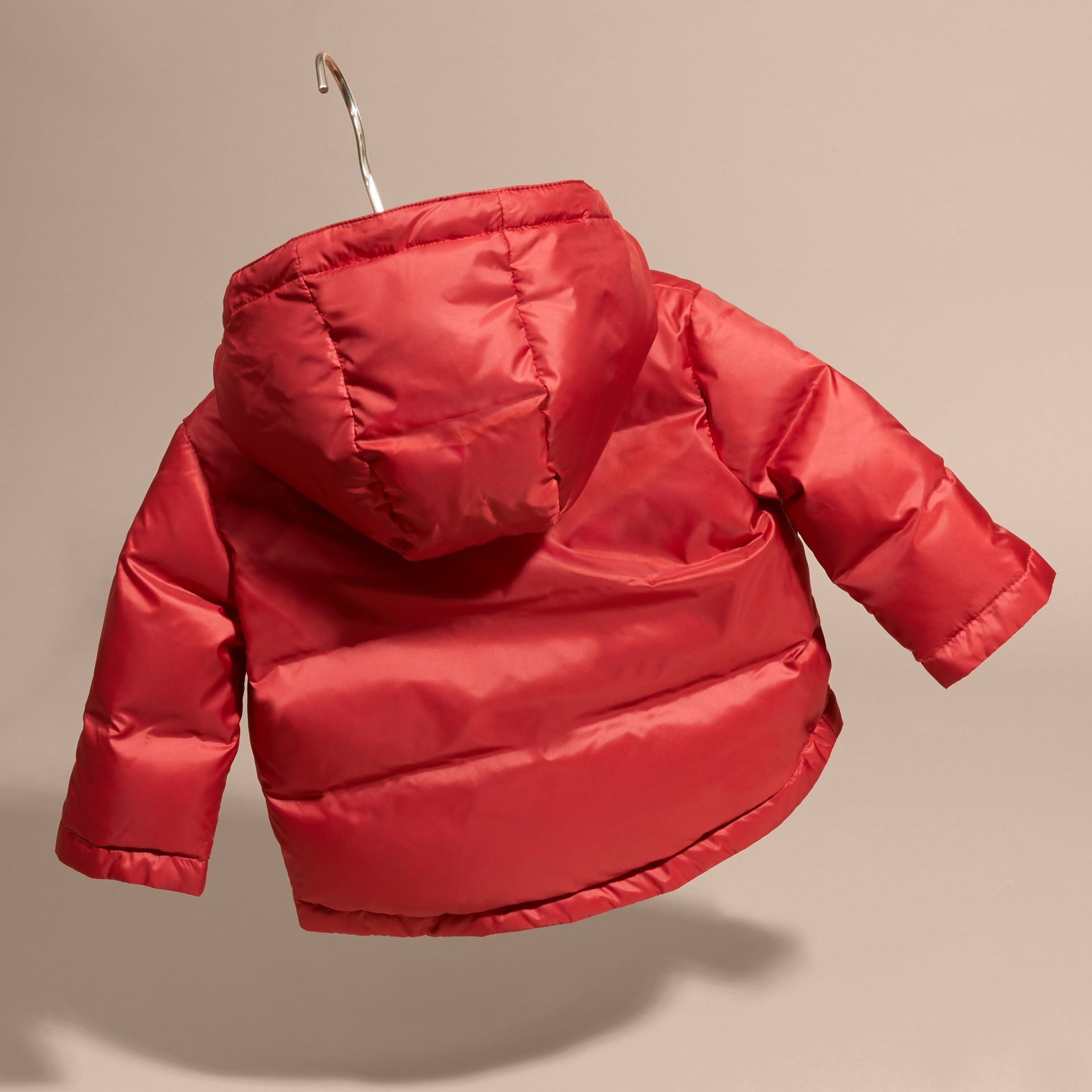 Hooded Down-filled Puffer Coat - gallery image 4