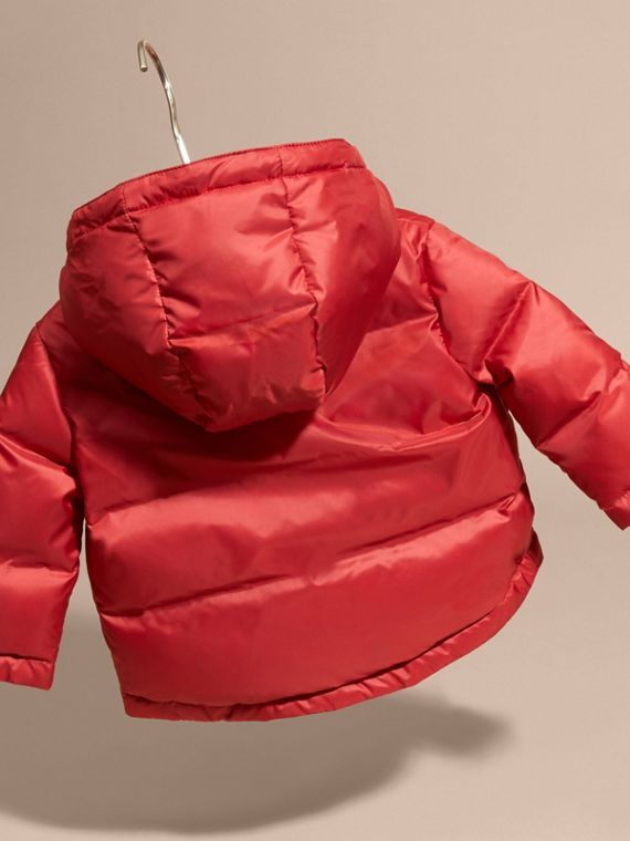 Military red Reversible Puffer Coat Military Red - cell image 3