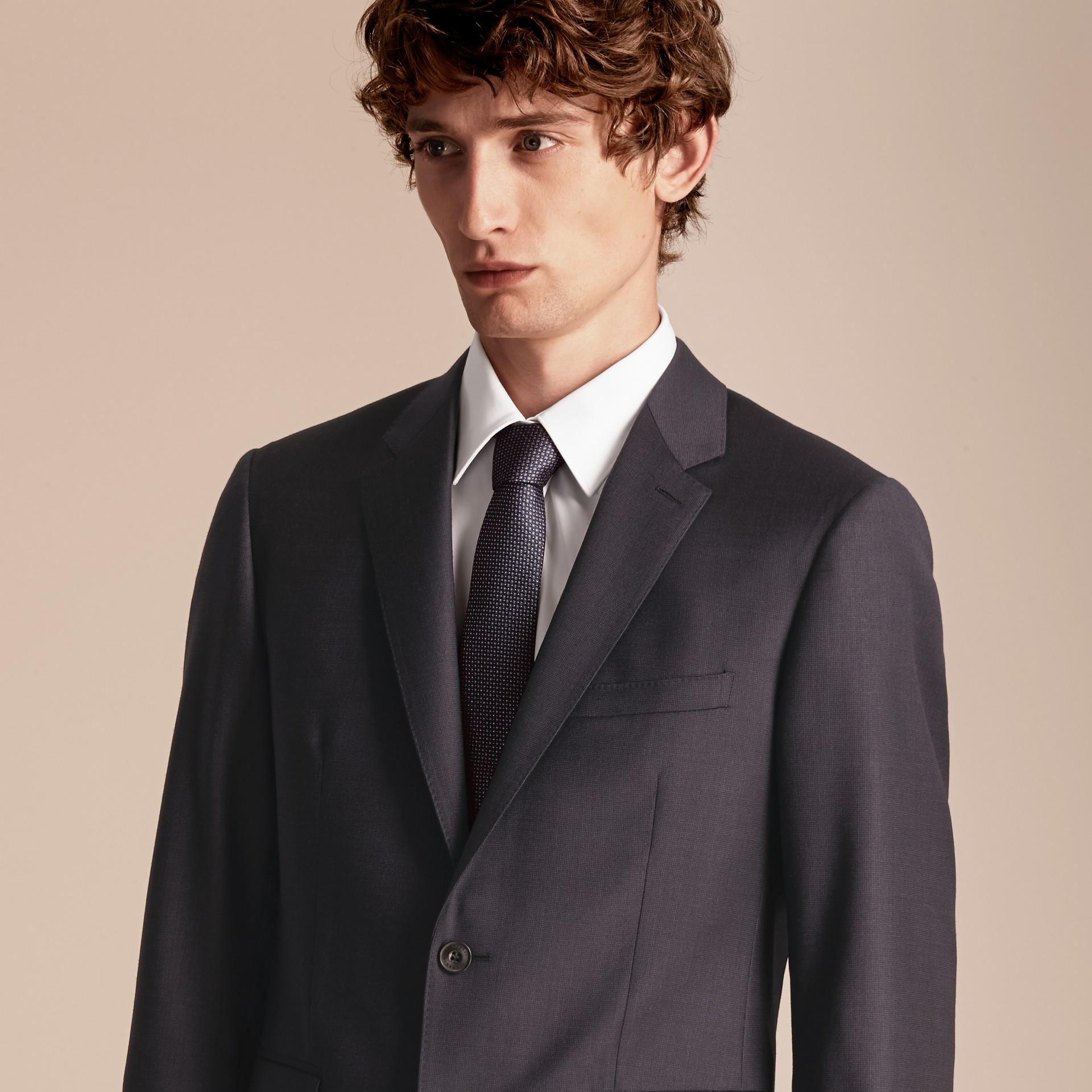 Slim Fit Travel Tailoring Wool Suit - gallery image 5