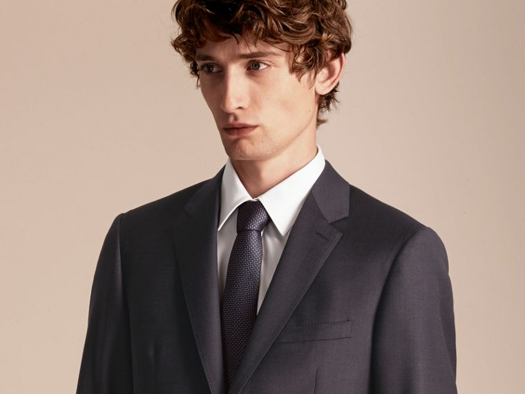 Slim Fit Travel Tailoring Wool Suit - cell image 4