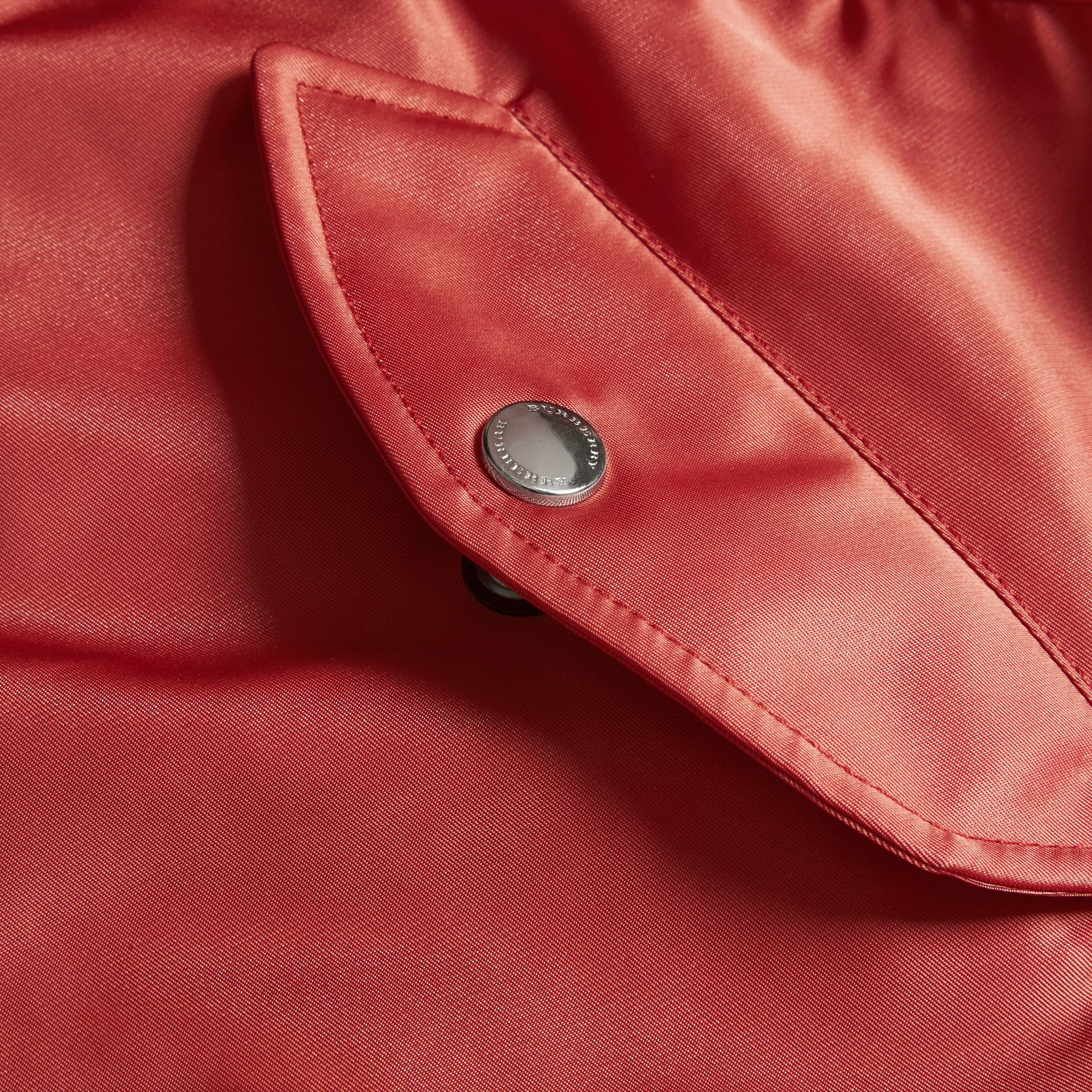 Technical Bomber Jacket in Rose Pink - gallery image 2