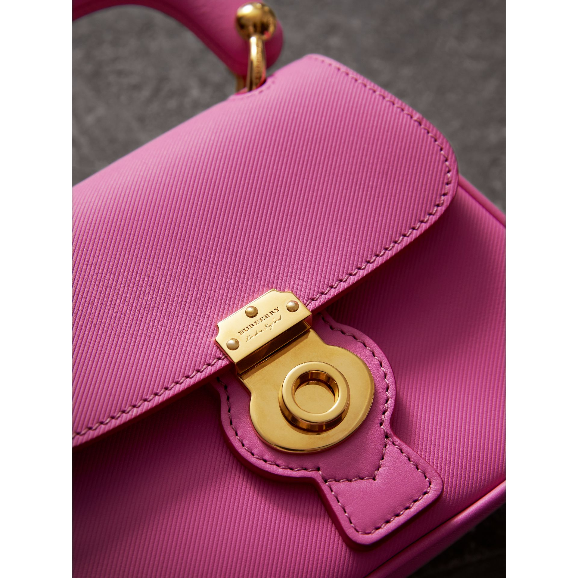 The Mini DK88 Top Handle Bag in Rose Pink - Women | Burberry United Kingdom - gallery image 2