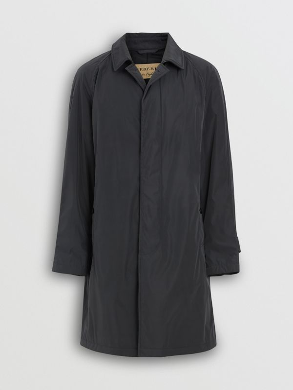 Quilt-lined Nylon Car Coat in Dark Charcoal - Men | Burberry - cell image 3
