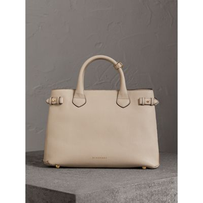 Burberry - Sac The Banner medium en cuir et coton House check - 6