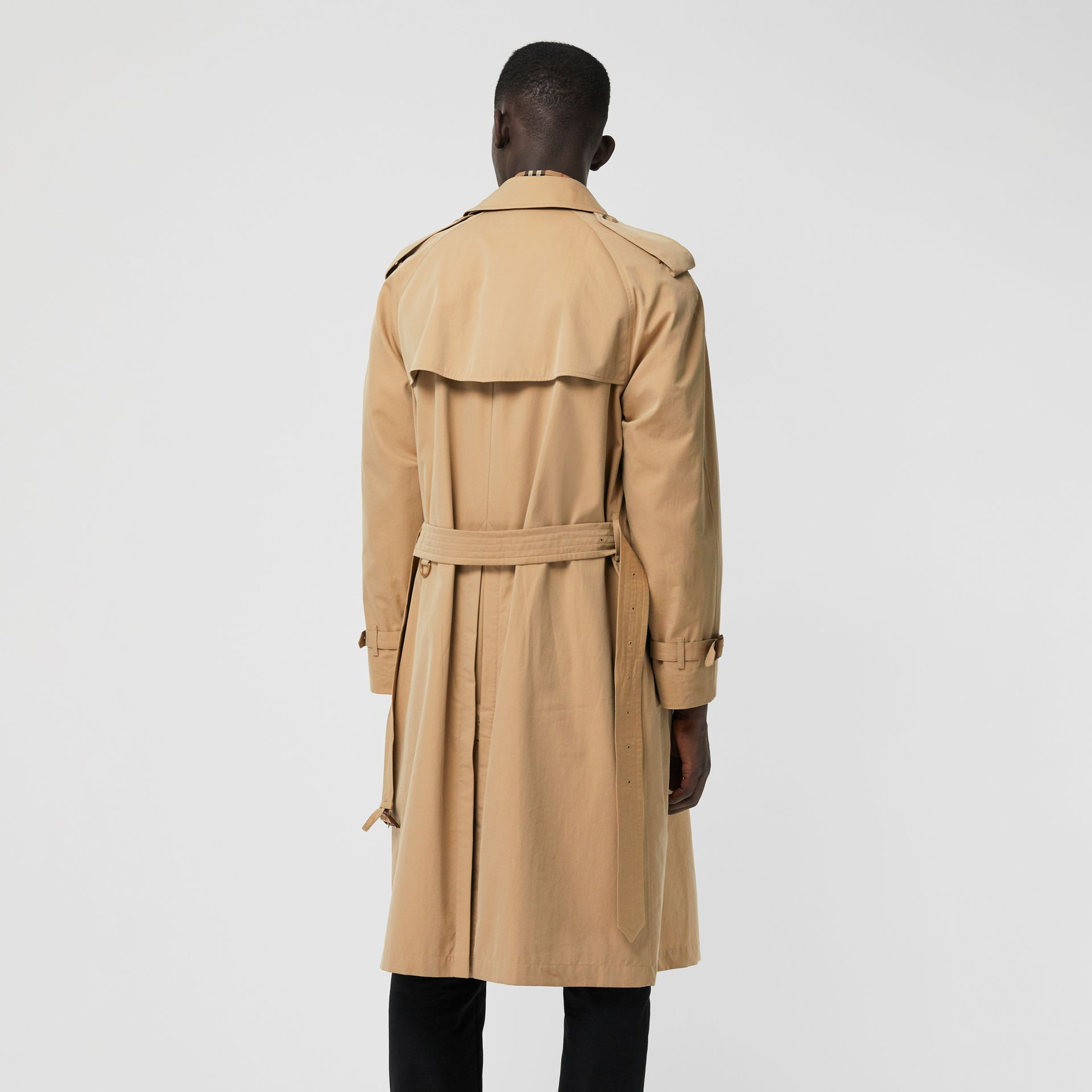 Trench coat Heritage The Westminster (Miele) - Uomo | Burberry - immagine della galleria 2