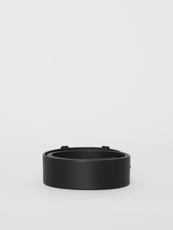 The Small Belt Bag Grainy Leather Belt in Black - Women | Burberry - cell image 3