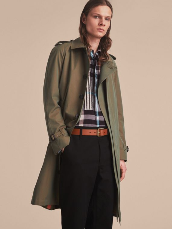 Cintura in pelle Trench bicolore (Marroncino) - Uomo | Burberry - cell image 2