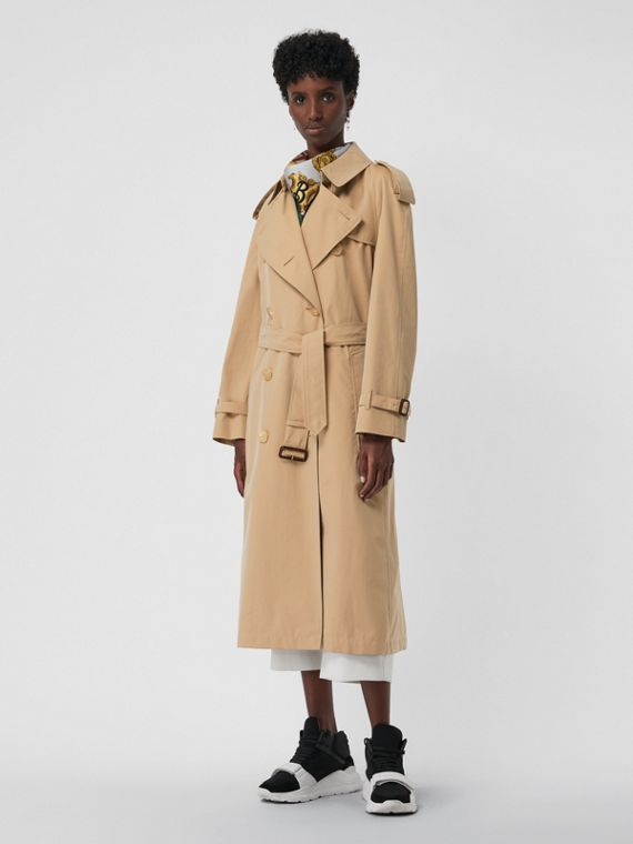 Trench coat Heritage The Westminster lungo (Miele)