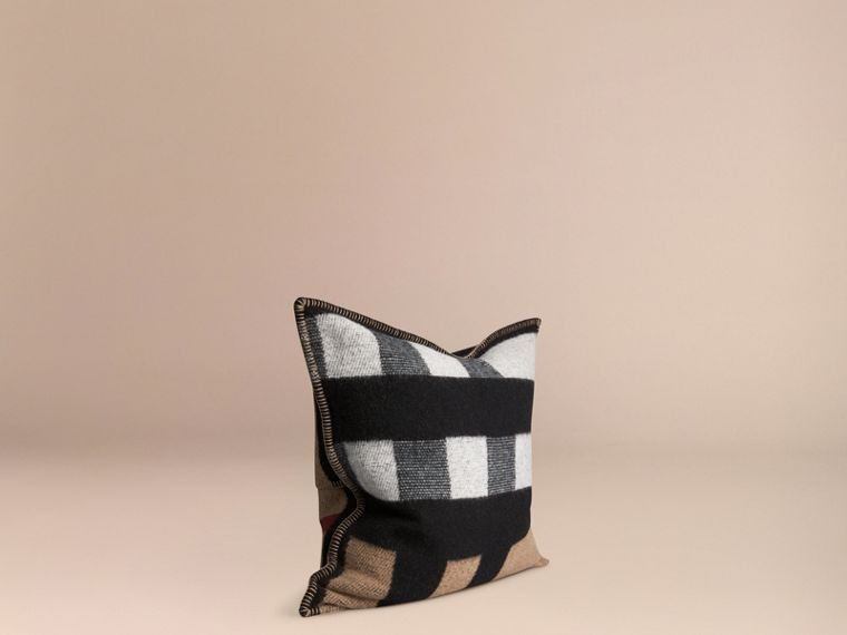 House check/black Check Wool Cashmere Cushion Cover House Check/black - cell image 2