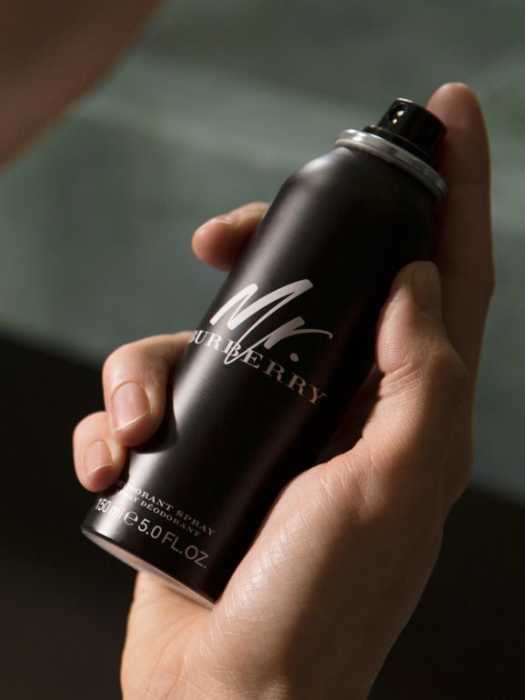 Mr. Burberry Deodorant Spray 150ml | Burberry Australia - cell image 1