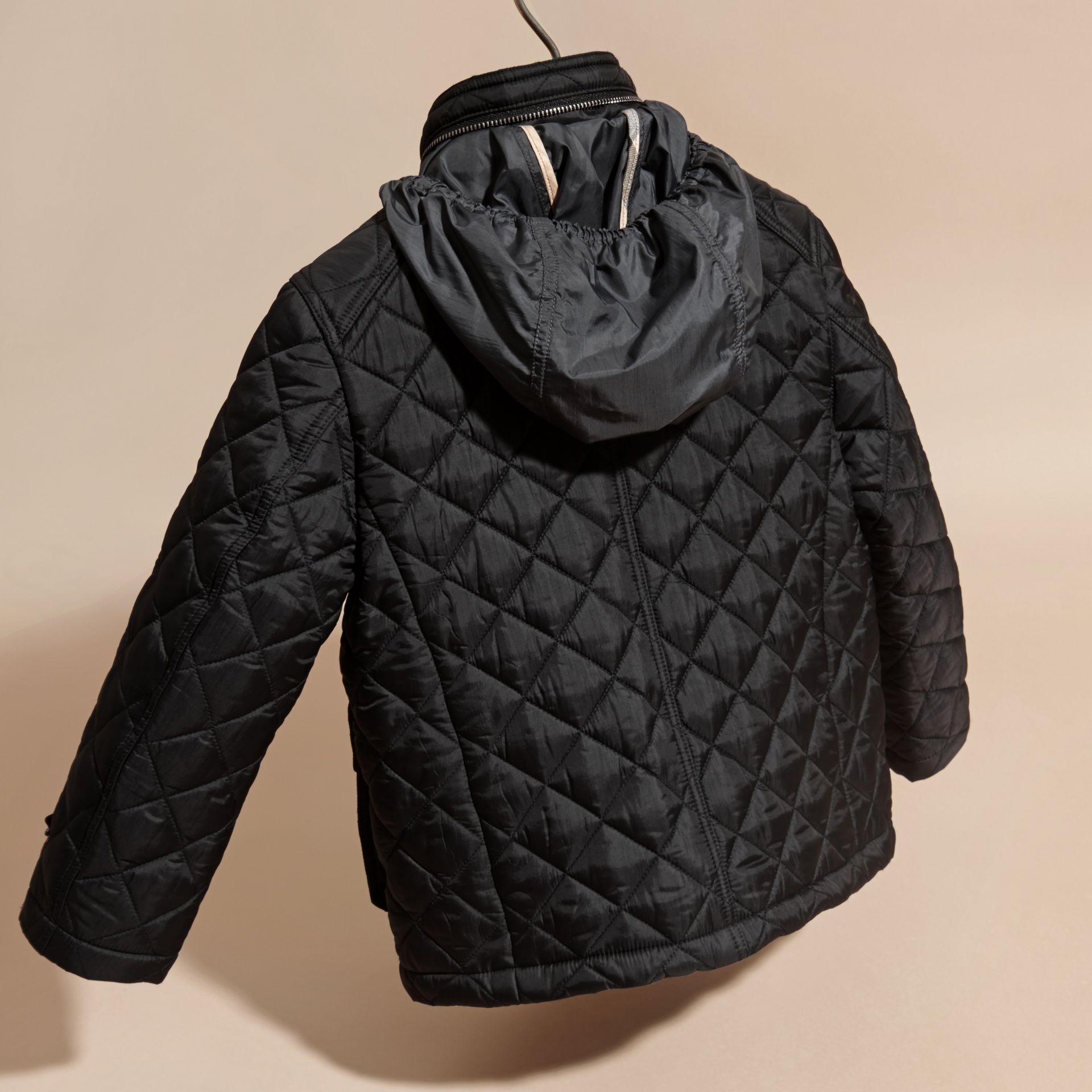 Black Diamond Quilted Field Jacket - gallery image 4