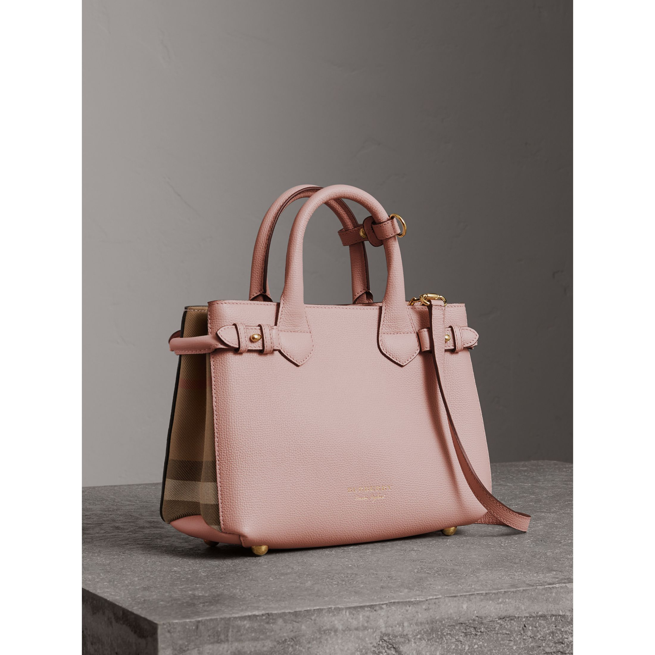 Gorgeous pink Burberry satchel
