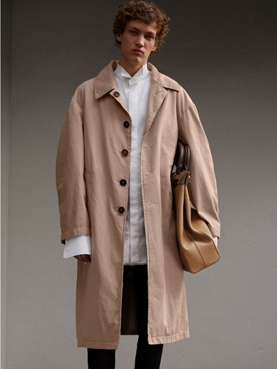 Unisex Tropical Gabardine Car Coat - Men | Burberry Singapore