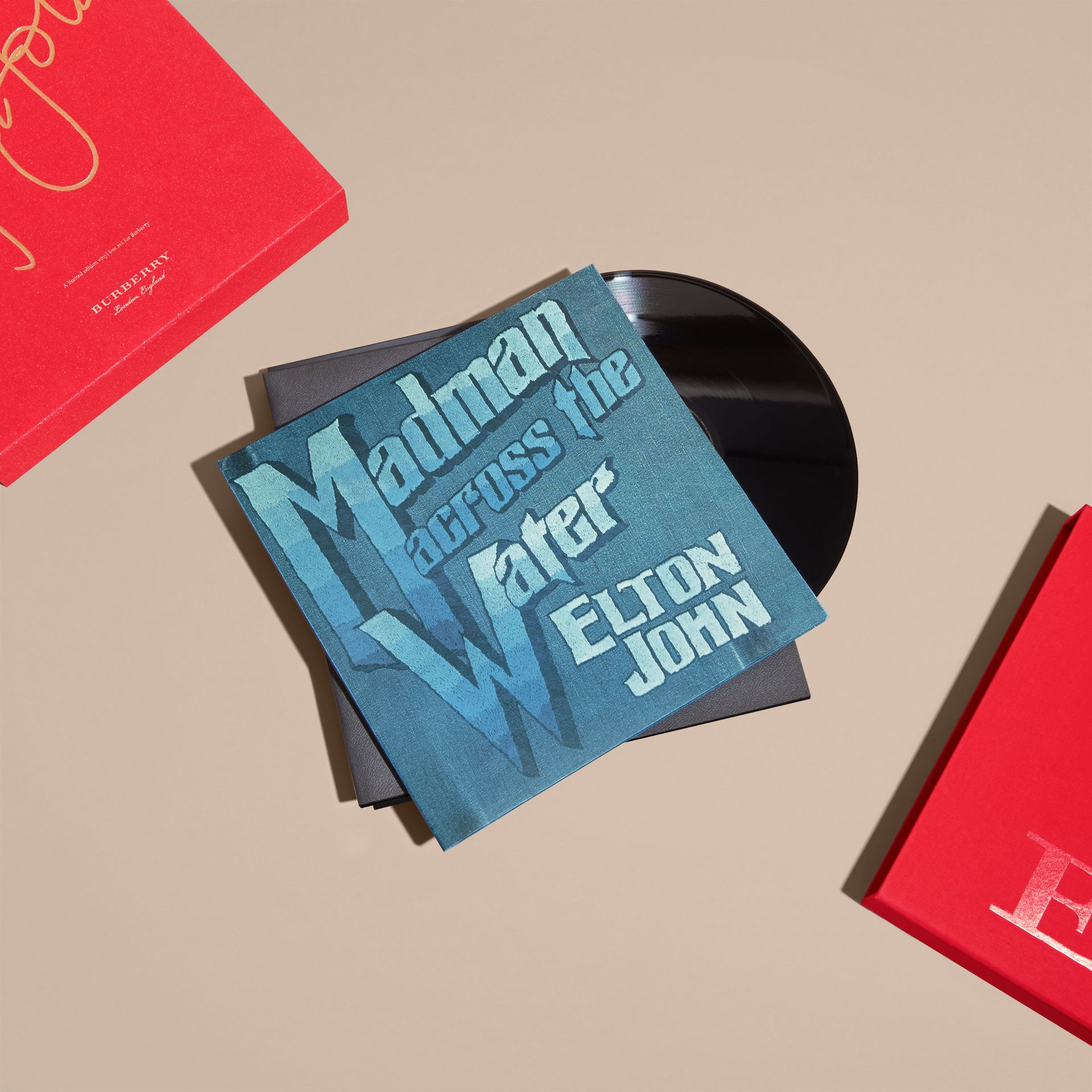 Multicolour Elton John: A Limited Edition Vinyl Box Set for Burberry - gallery image 5