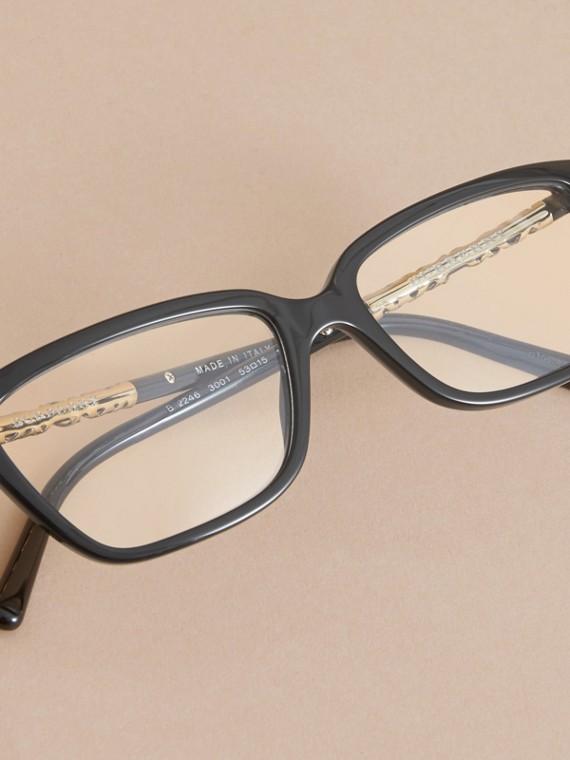 Check Detail Rectangular Cat-eye Optical Frames - cell image 2