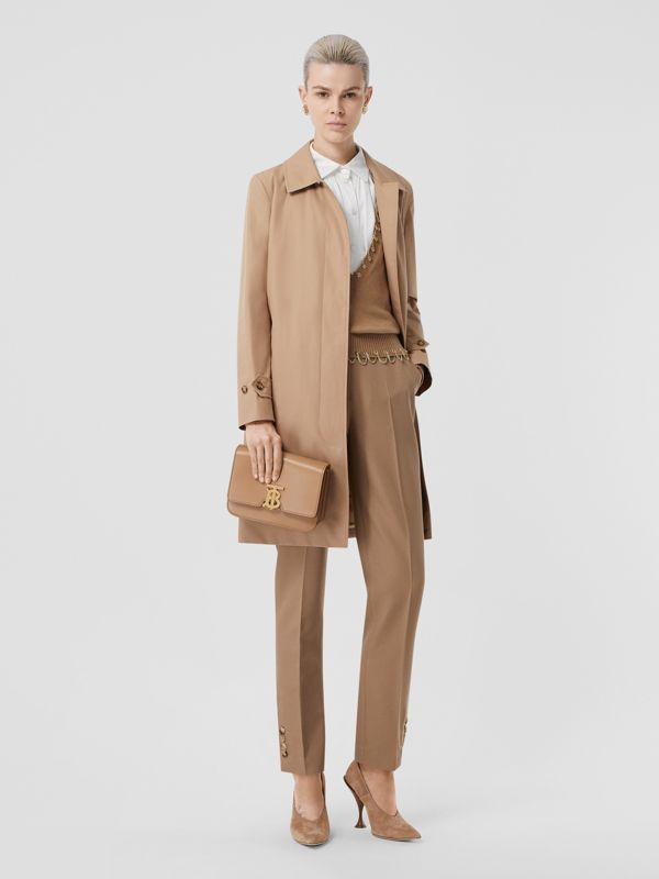 Small Leather TB Bag in Light Camel - Women | Burberry - cell image 2