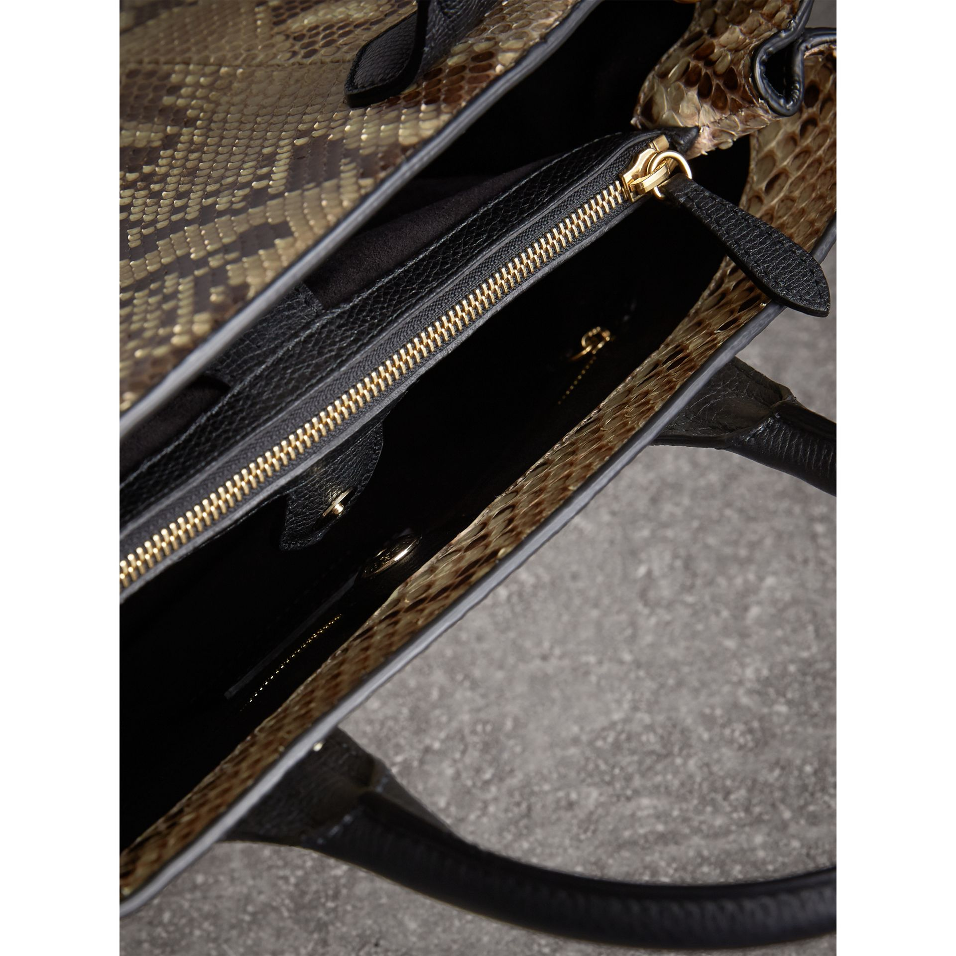 Sac The Banner medium en python - Femme | Burberry - photo de la galerie 6