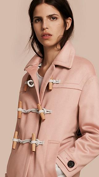 Duffle-coat en cachemire