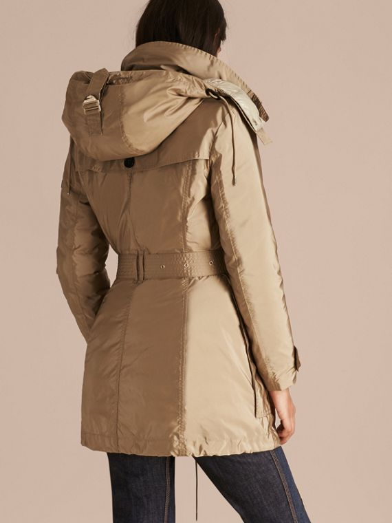 Sisal Fur-trimmed Parka with Detachable Down-filled Jacket Sisal - cell image 2