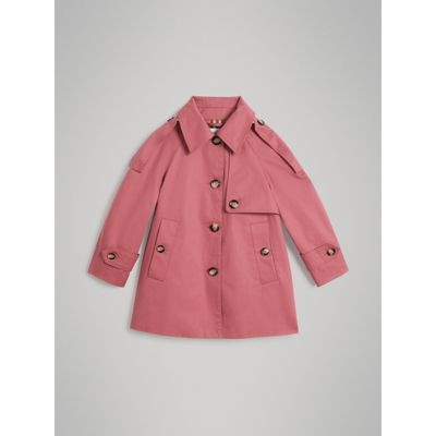 Showerproof Cotton Reconstructed Trench Coat by Burberry
