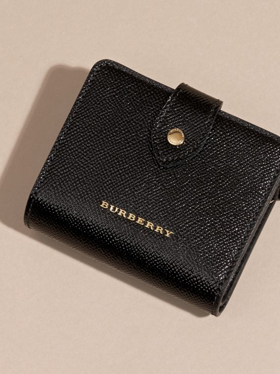Black Patent London Leather Wallet Black - cell image 2