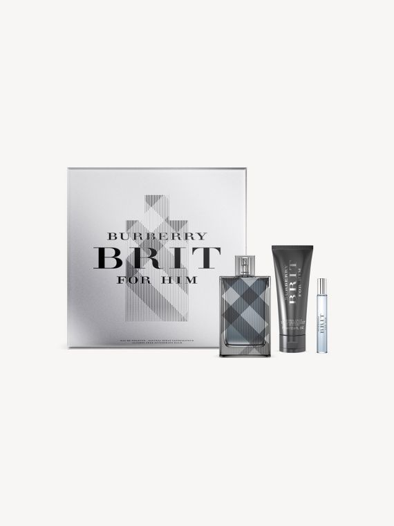 Burberry Brit for Him Festive Luxury Set in Black