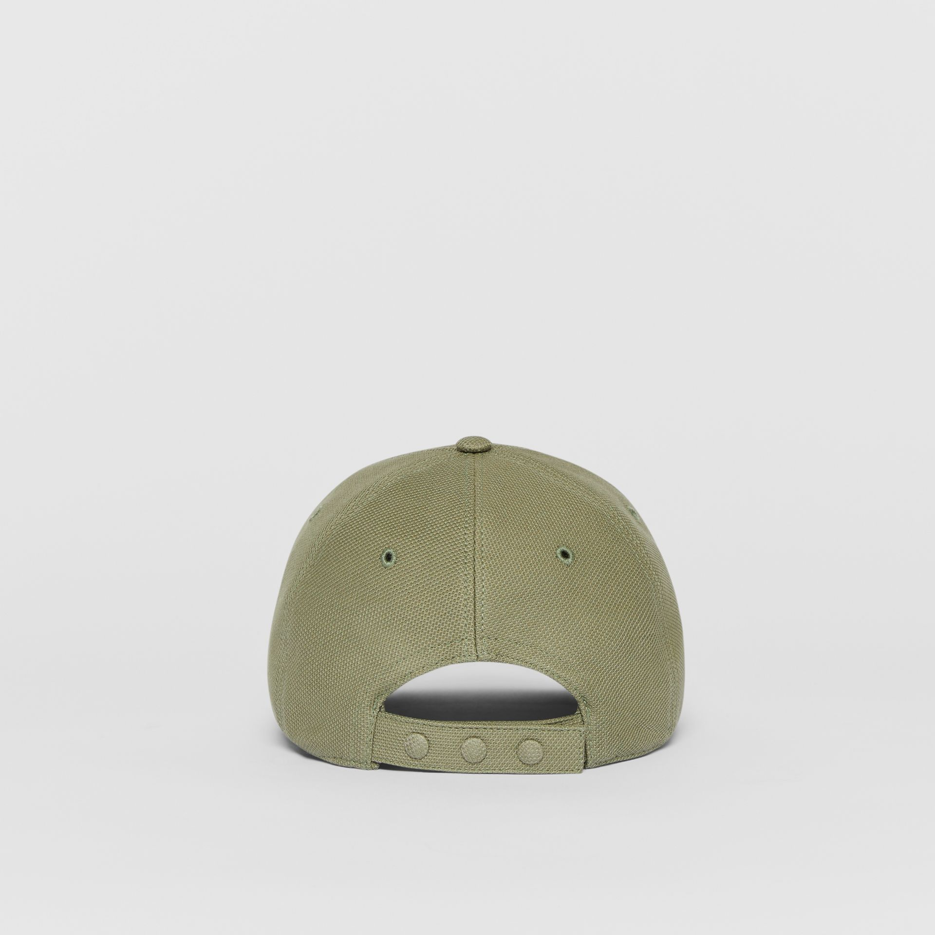 Monogram Motif Baseball Cap in Poplar Green | Burberry - gallery image 4
