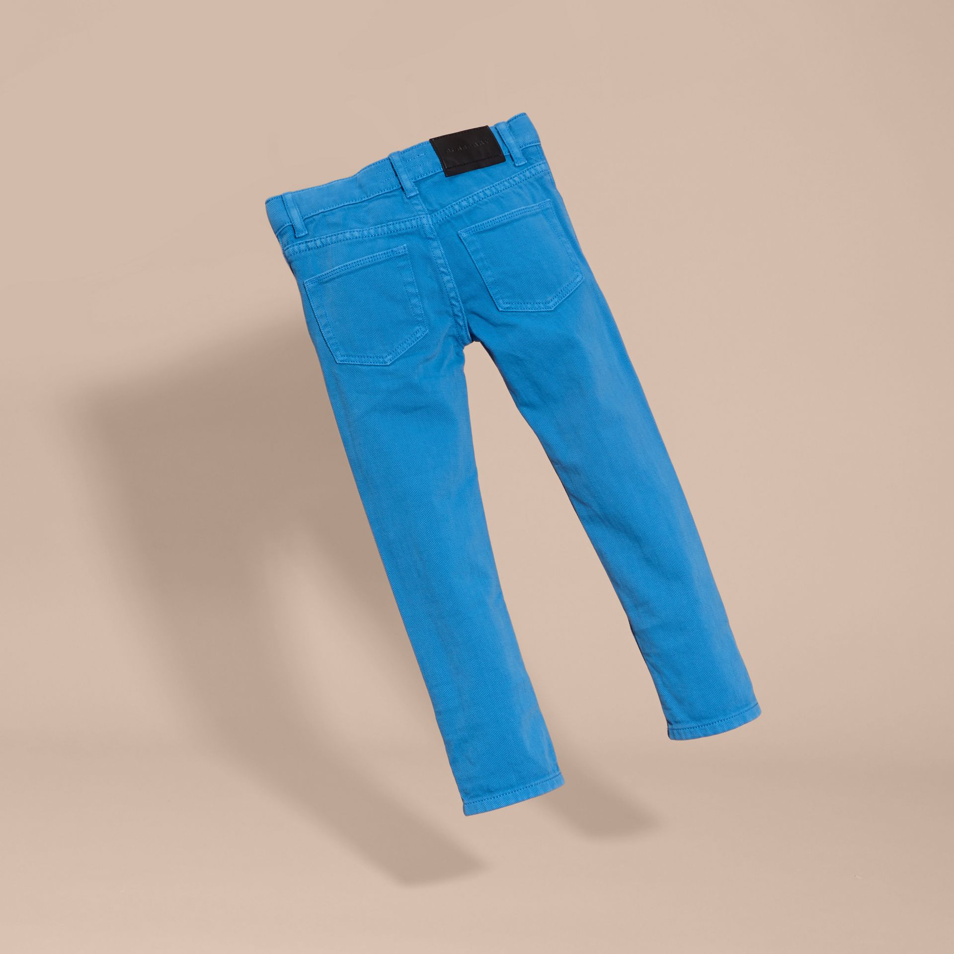 Chalk blue Skinny Fit Jeans - gallery image 4