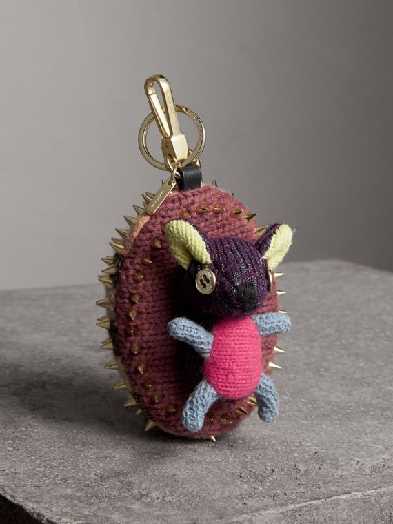 Bob The Hedgehog Cashmere Charm in Camel