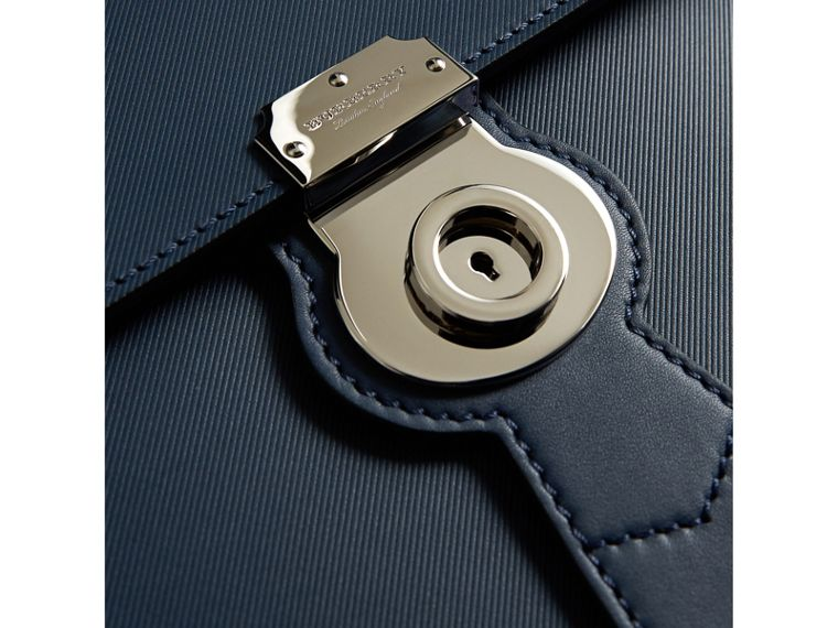 The Large DK88 Document Case in Ink Blue - Men | Burberry Australia - cell image 1