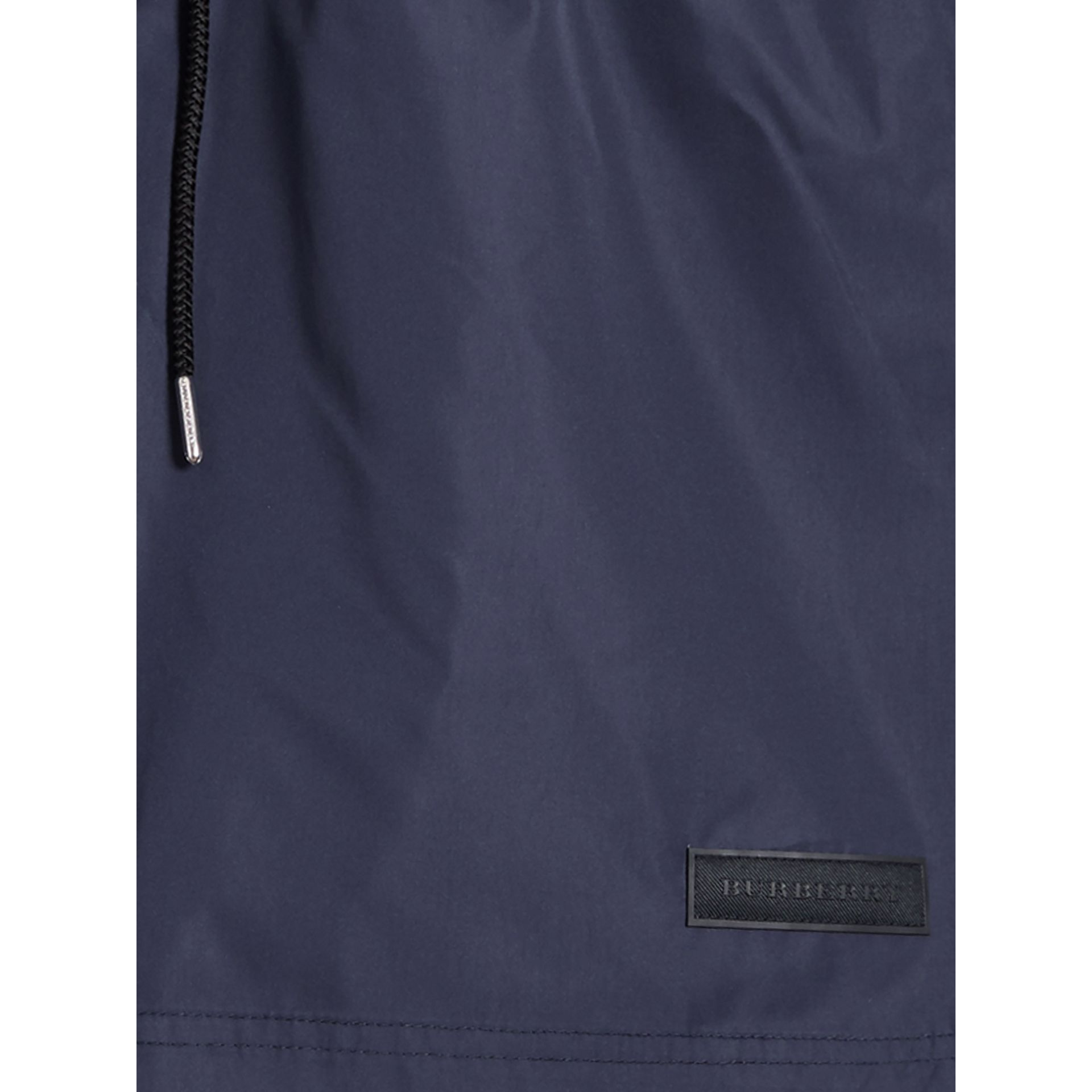 Drawcord Swim Shorts in Navy - Men | Burberry - gallery image 1