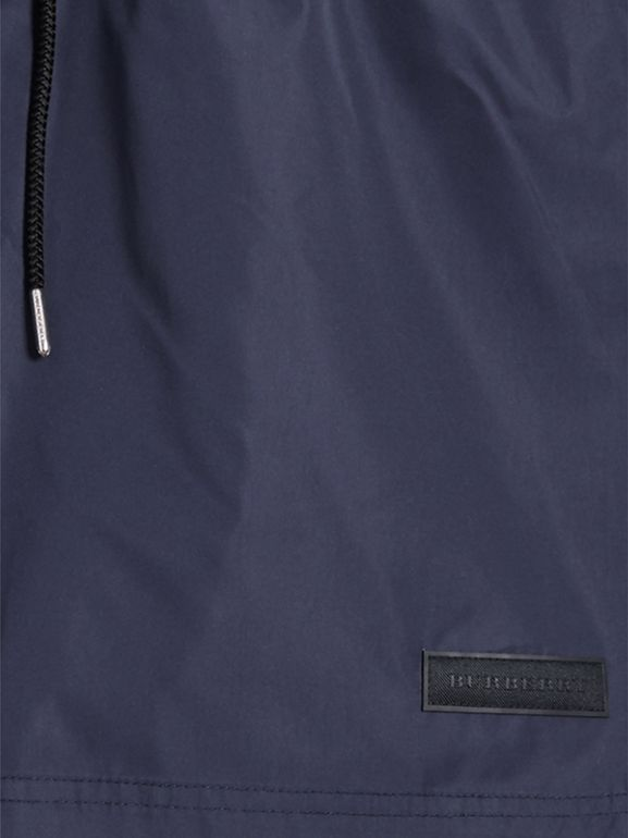 Drawcord Swim Shorts in Navy - Men | Burberry - cell image 1