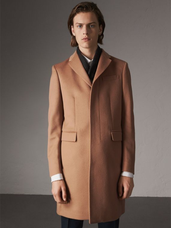 Cashmere Coats for Men | Burberry United Kingdom