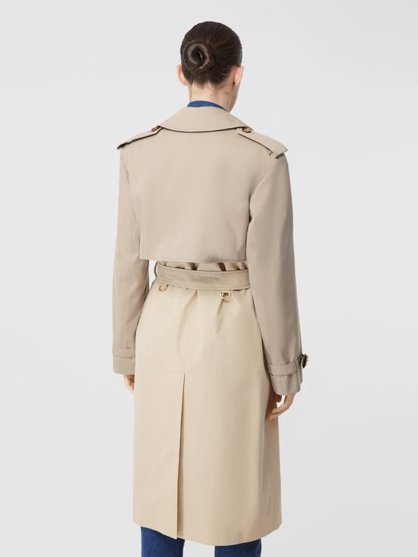Two-tone Reconstructed Trench Coat in Light Sand - Women | Burberry Hong Kong S.A.R - cell image 2