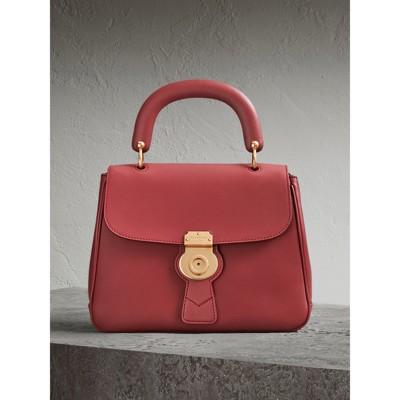 the medium dk88 top handle bag in antique red women