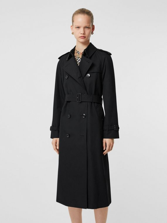 The Waterloo Trench Coat in Black