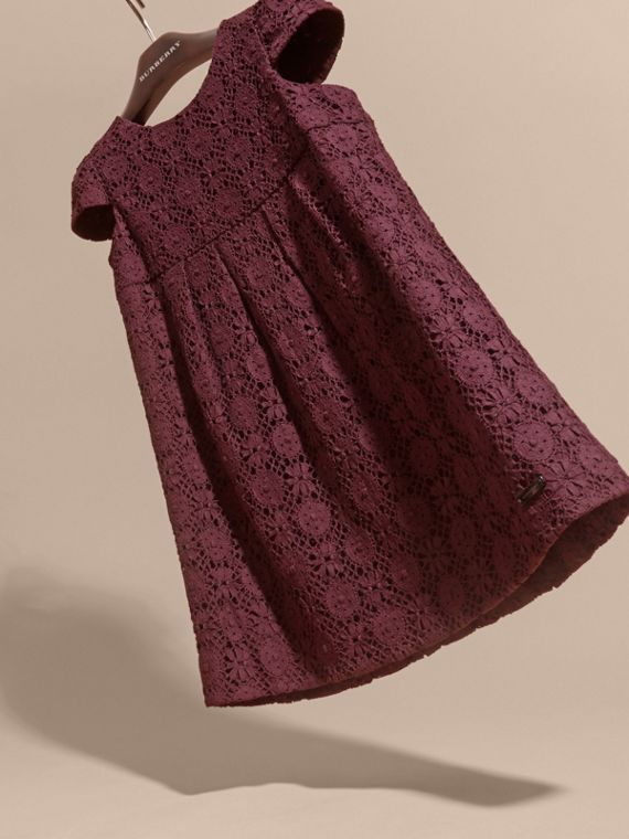 Beetroot English Lace Dress Beetroot - cell image 2