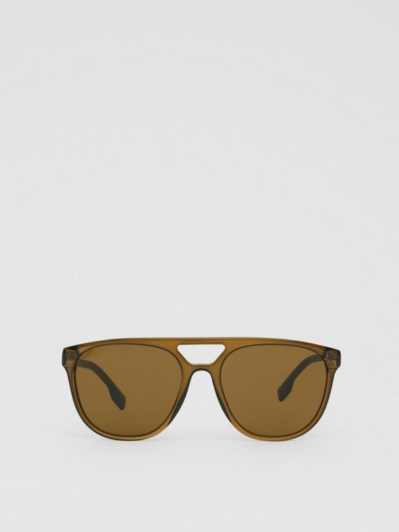 Navigator Sunglasses in Olive Green