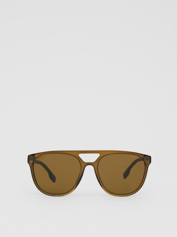 Солнцезащитные очки «навигаторы» (Оливковый Зеленый)