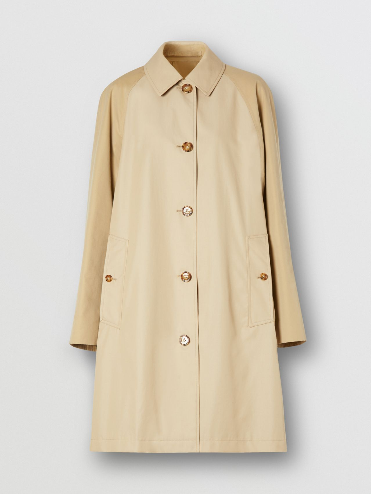Two-tone Reconstructed Car Coat
