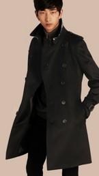 Kensington Fit Cashmere Trench Coat