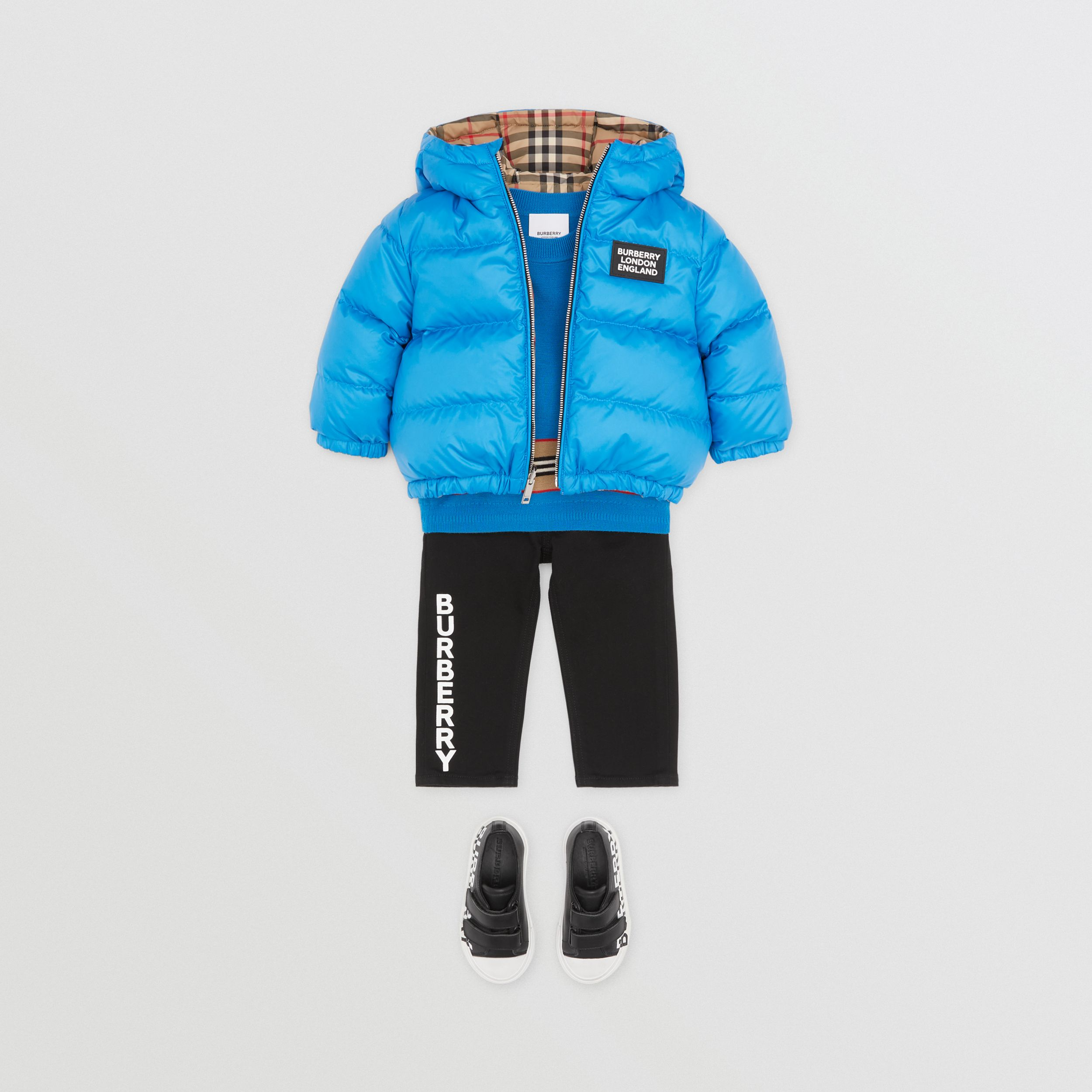 Reversible Vintage Check Puffer Jacket - Children | Burberry United States - 3