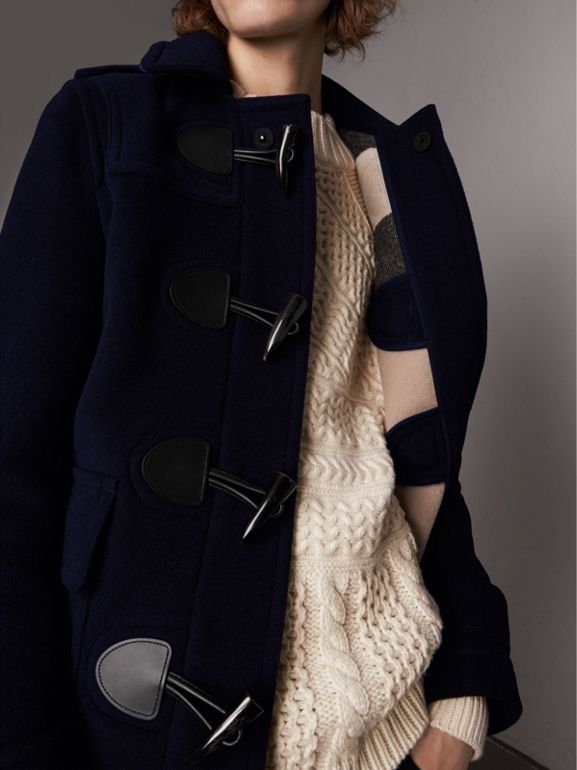 The Plymouth Dufflecoat (Marineblau) - Herren | Burberry - cell image 1