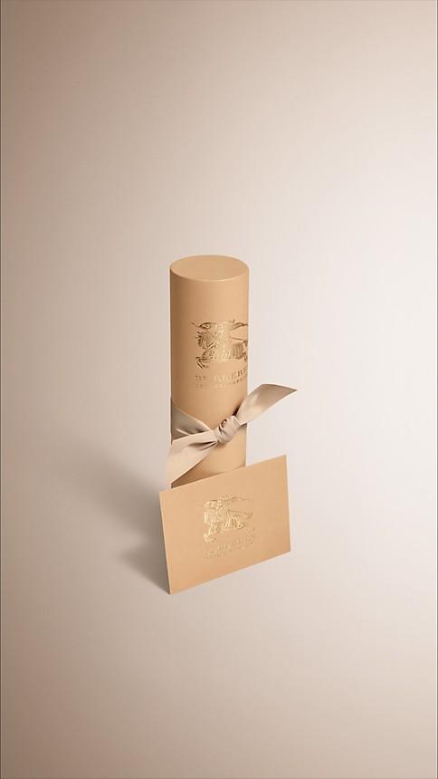 Check ivoire Écharpe en cachemire avec motif check et bordure en fourrure Ivoire - Image 4